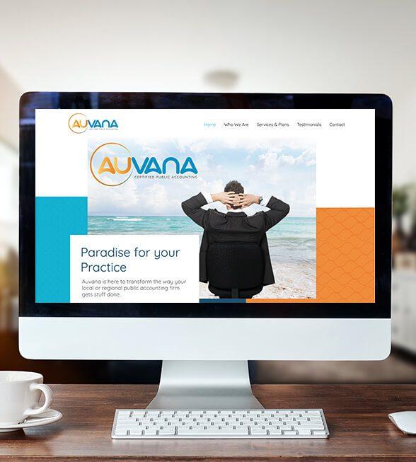 Auvana Website Design