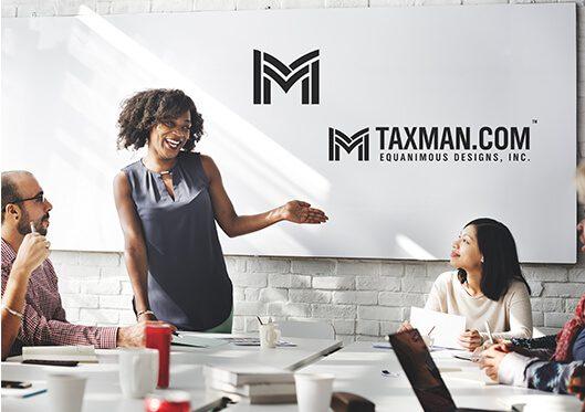 M&M Tax Service Logo Design