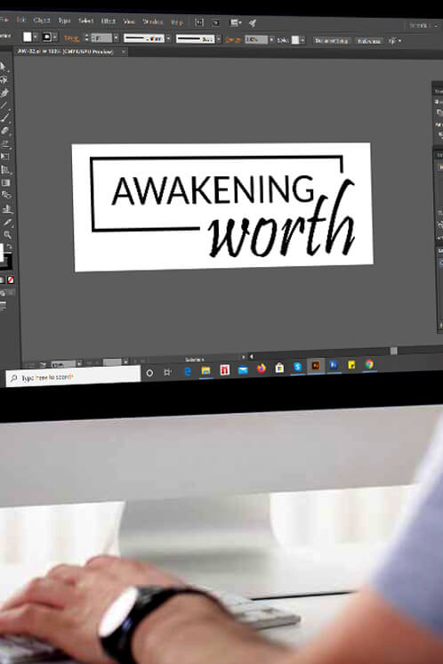 Awakening Worth Logo Design
