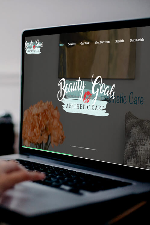 Beauty Goals Aesthetics Website