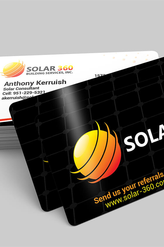 Solar 360 Business Cards