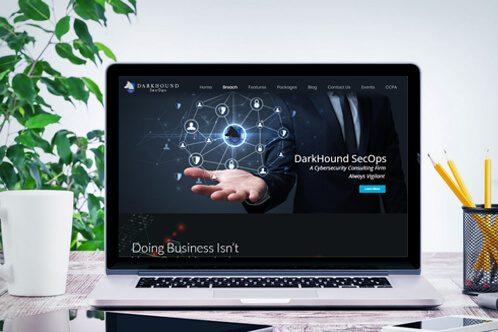 DarkHound Security Website