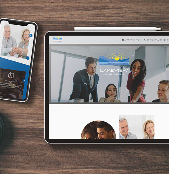 Lakeview Law Group Web Design