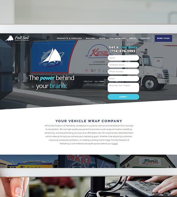 Full Sail Graphics Web Design