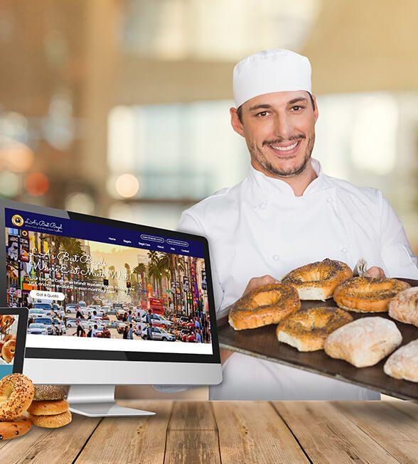 LA's Best Bagels Website