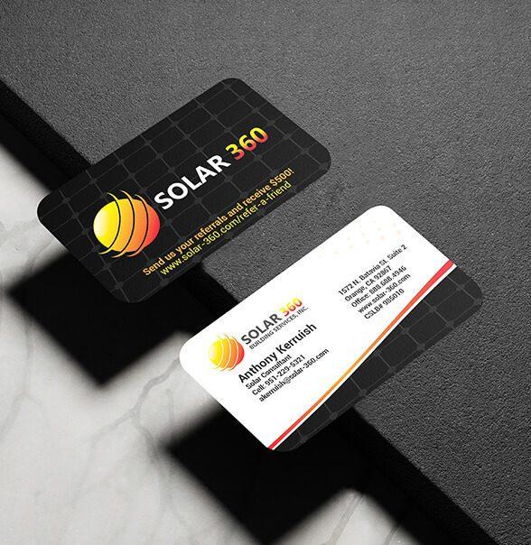 Solar 360 Business Cards