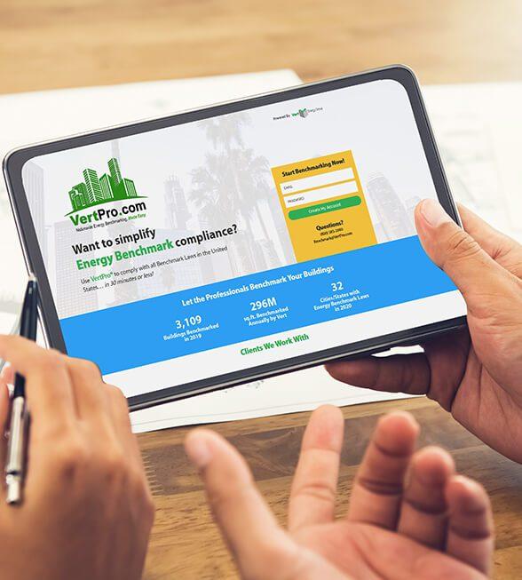 Vert Pro Website