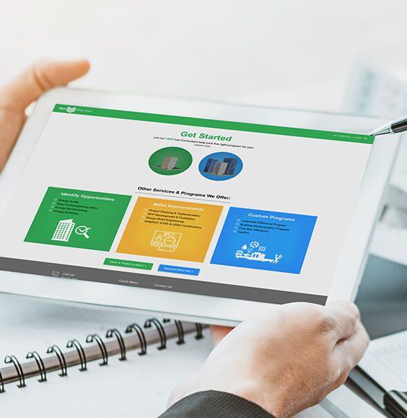 Vert Energy Group Website