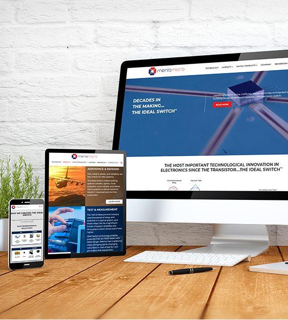 Menlo Micro Website