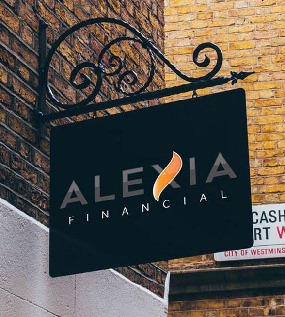 Alexia Financial Logo Design