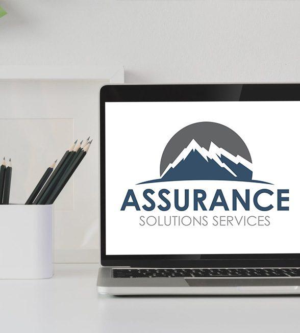 Assurance Solutions Services Logo Design