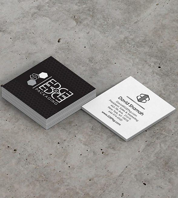 Edge2Edge Business Card Design