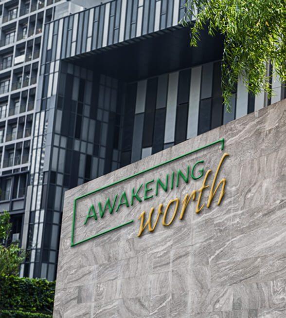 Awakening Worth Logo Design