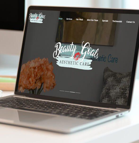 Beauty Goals Aesthetics Website