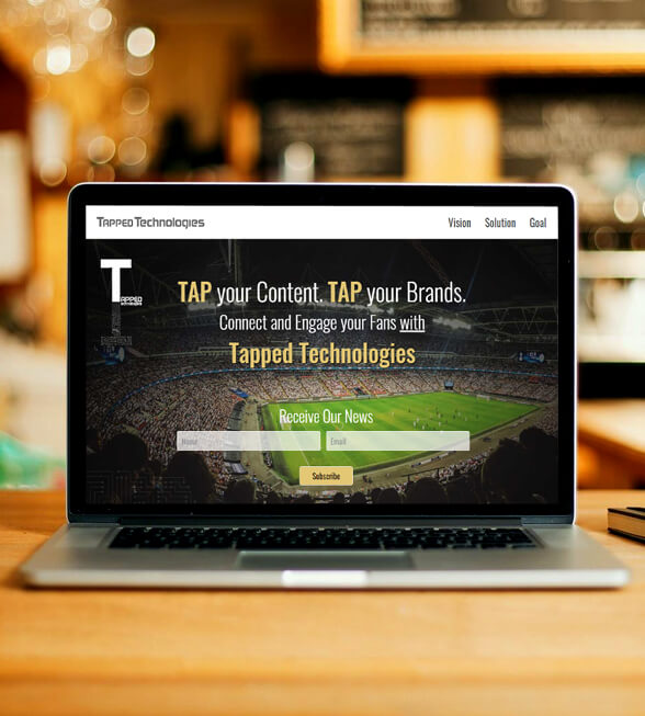 Tapped Technologies Web Design