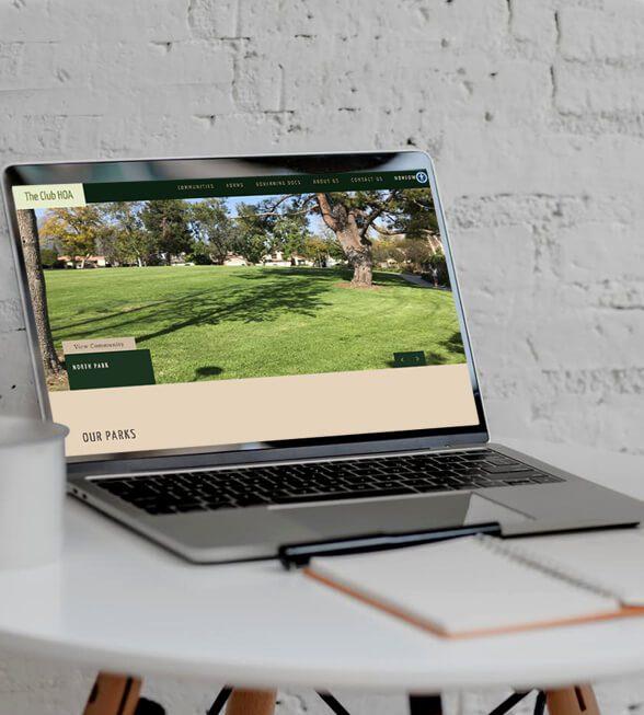 The Club HOA Web Design