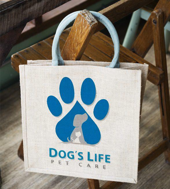 Dog's Life Logo Design