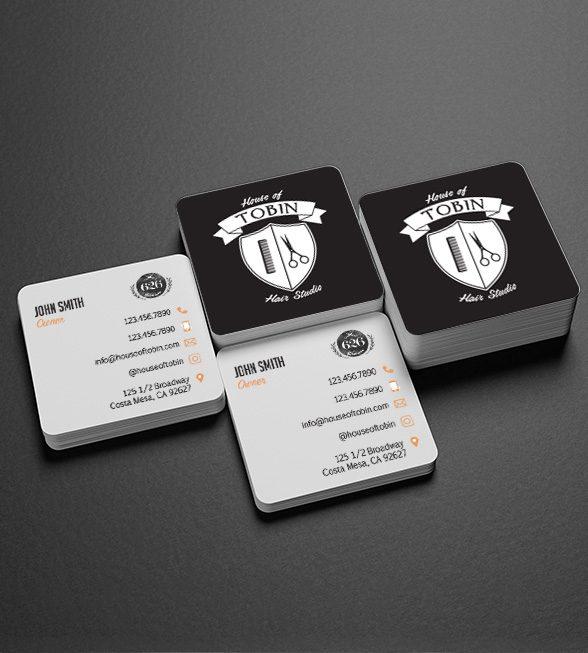 House of Tobin Business Card Design