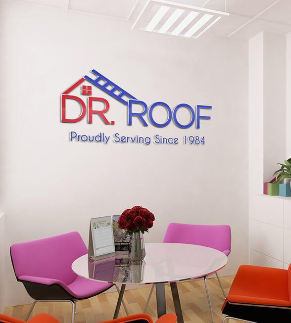 Dr. Roof Logo Design