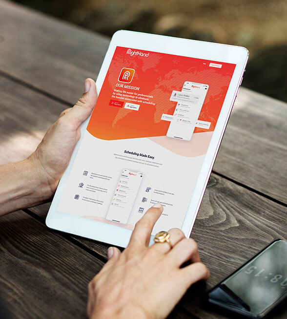 Right Hand Website