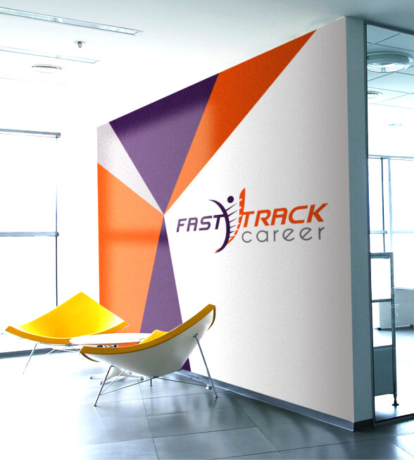 Fast Track Career Logo Design