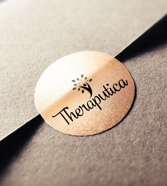 Theraputica Logo Design