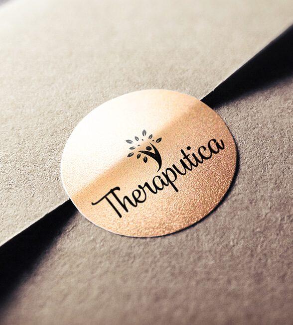 Theraputica Logo Design
