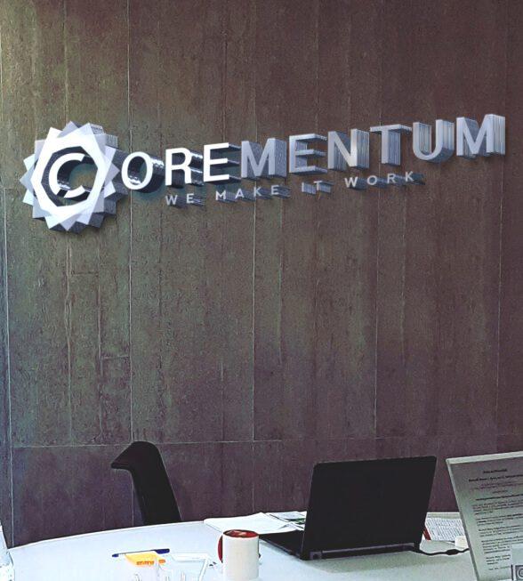Corementum Logo Design