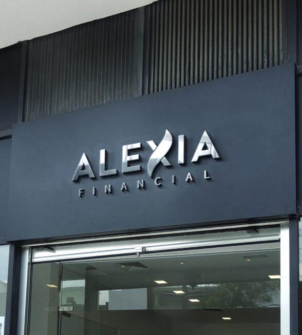 Alexia Insurance Logo Design
