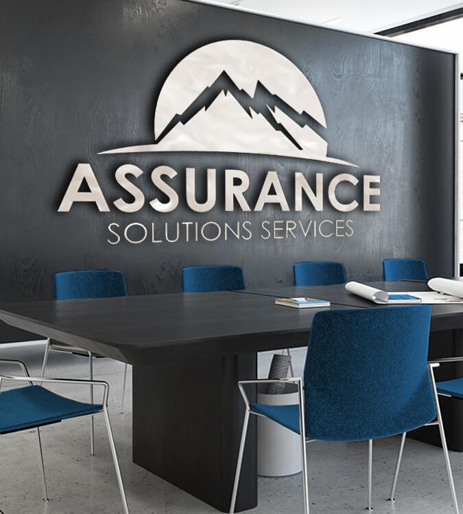 Assurance Solutions Logo Design