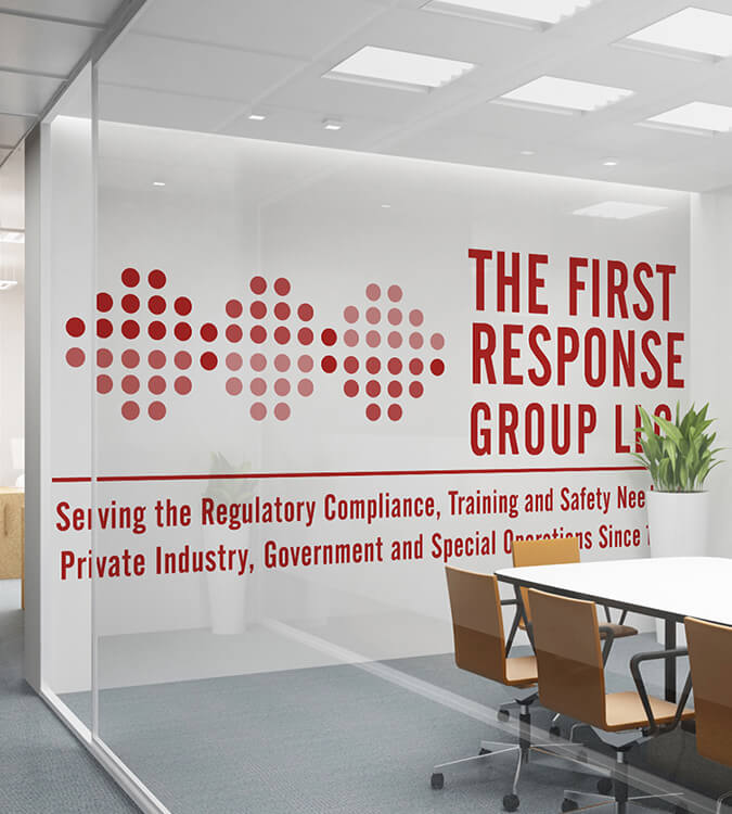 First Response Group, LLC Logo Design