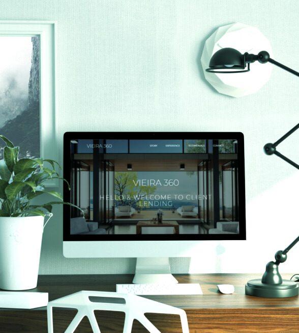 Vieria 360 Landing Page