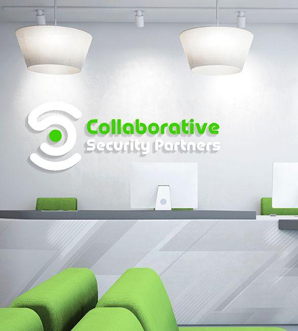 Collaborative Security Partners Logo Design
