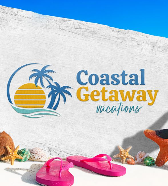 Coastal Getaway Logo Design
