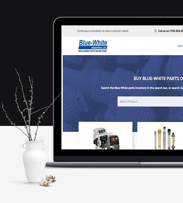 Blue White Parts
