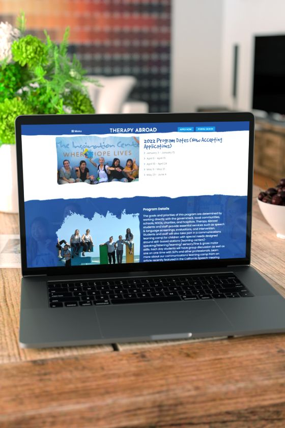 Therapy Abroad Website1