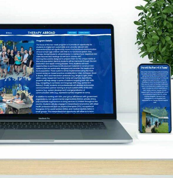 Abroad Website Portfolio1