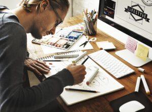 Artist Creative Designer Illustrator Graphic Skill Concept