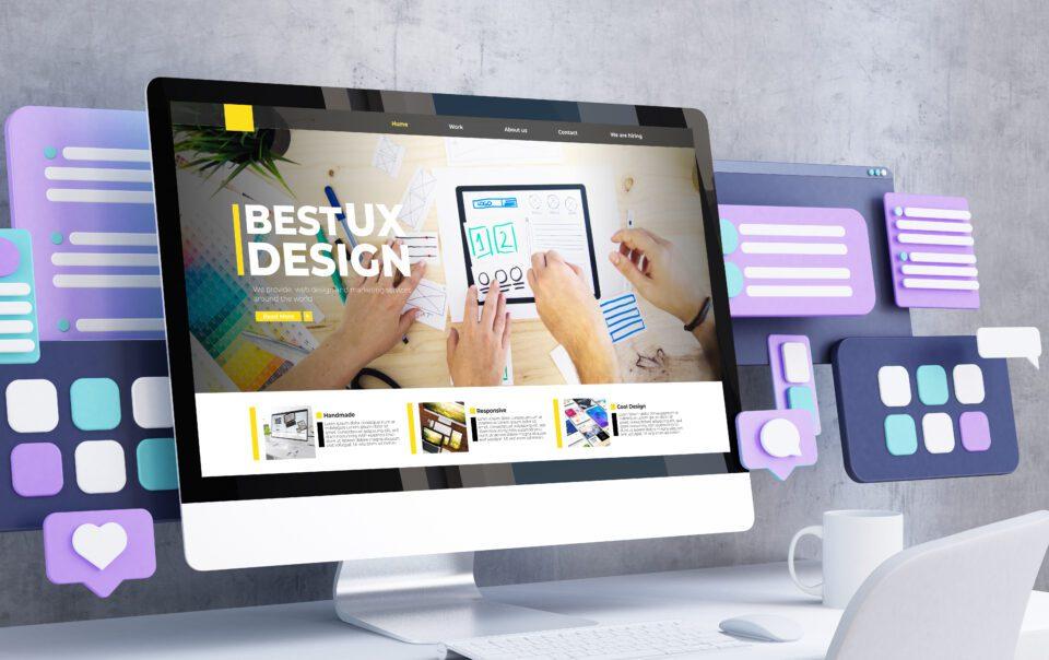 Best UX Website design - LightHouse Graphics