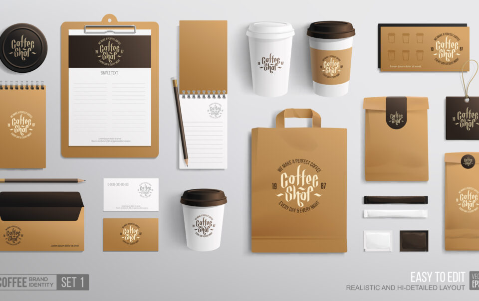Corporate identity mockup - LightHouse Graphics
