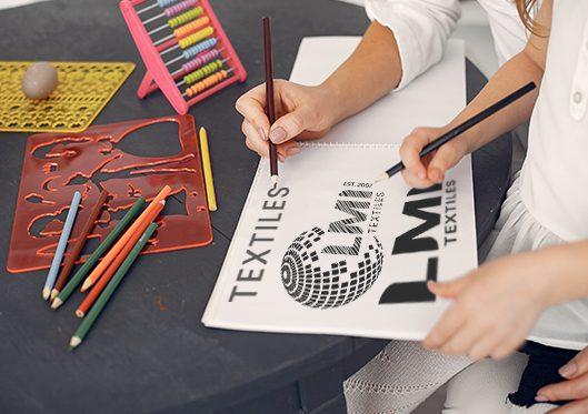 LMI Textiles Logo Design 1