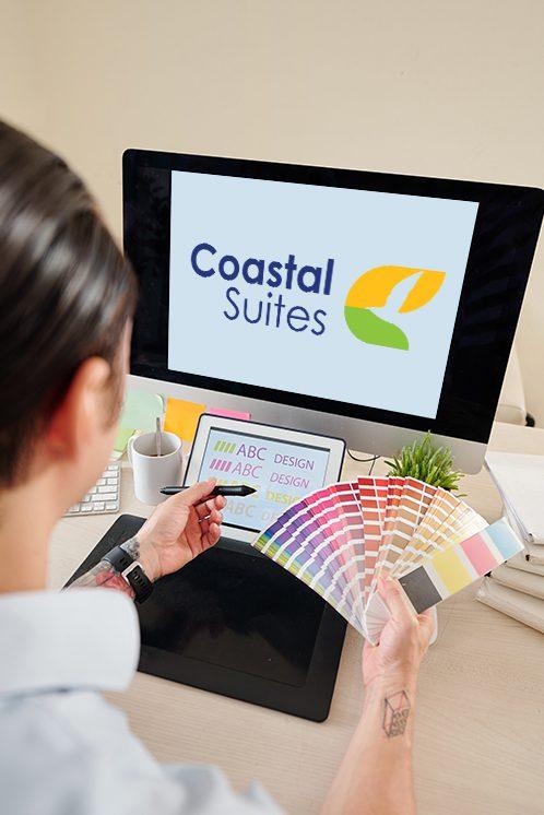 Coastal Suites - LightHouse Graphics Logo Portfolio